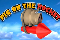 Pig On The Rocket - Juego de Acción